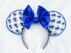 Running Mickey (white) EARS