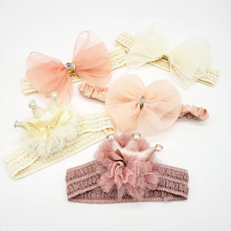 Hair Bow: Peachy