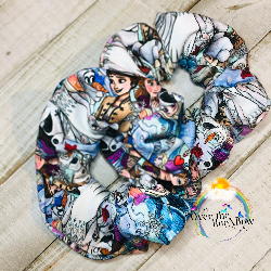 Ice Journey Scrunchie