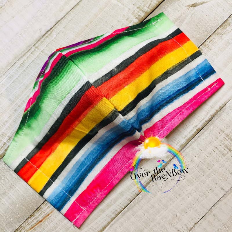 Water Color Serape Face Mask