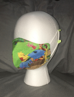 Adult Face Mask 100 Acre Wood
