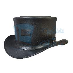 Hampton Leather Top Hat