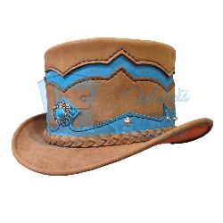 Voodoo Hatter El Dorado Double Crowned Top Hat
