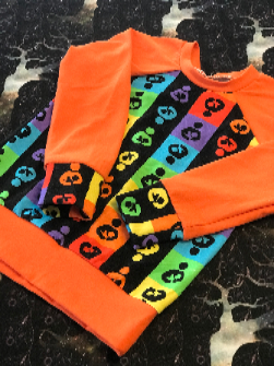 Nursing Rainbow Raglan Long Sleeve Shirt 2T