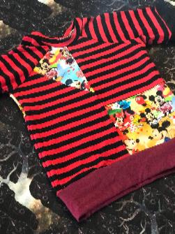 Mouse Raglan T-Shirt 2T