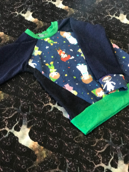 Free W/ purchase over $100 Second Star Raglan Long Sleeve Shirt 2T