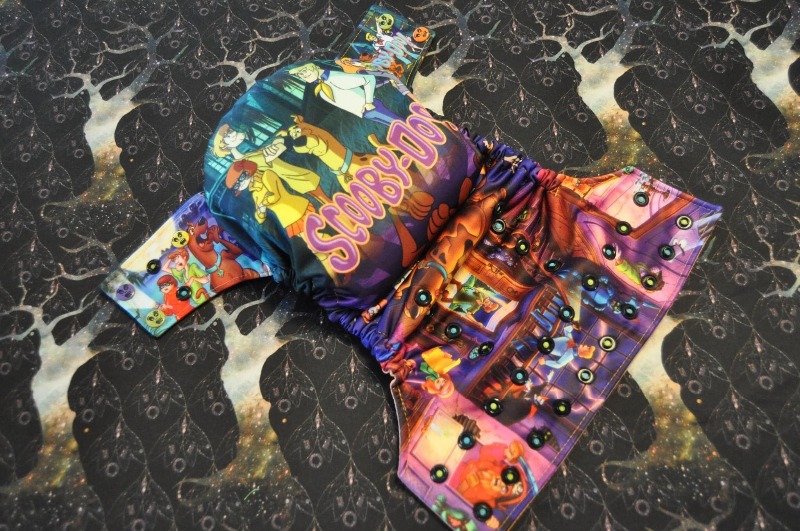 Scooby Gang Cloth Diaper. TAT 4-6 weeks.