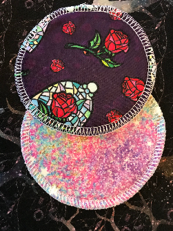 Nursing Pads (set of two pads)- Regular Size- Roses