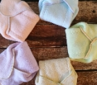 Sherpa Cotton Winged Prefold Cloth Diaper Sized So