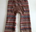 Recycled Woolly Autumn Stripes Jecaloones - Mini