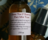 TIME REWIND....Clover Tea and Rosewater Facial Mist Toner