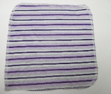Purple Stripe/Velour Wipe