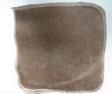 Chocolate Organic Bamboo Velour Wipe