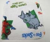 Suess Minky Silly Stories/Velour Wipe
