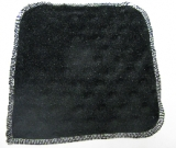 Black Dot Minky/Velour Wipe