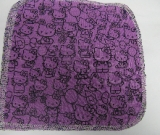 Purple Hello Kitty/Velour Wipe