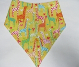 SALE! Yellow Giraffe - Bandana Bib