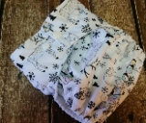 One Size Pocket Cloth Diaper Arctic Animals 15-40 lbs PUL