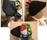 Gnome Bonnet for a Doll