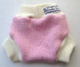 Small Pink Recycled Lambswool Soaker