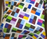 Phoebe�s Flower Box Quilt made by Jennifer Cain