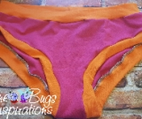 Hot Pink & Tangerine Scrundies or Bunzies