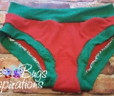 Red & Green Scrundies or Bunzies