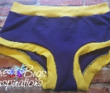 Purple & Yellow Scrundies or Bunzies