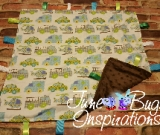 Rescue Vehicle Flannel Baby Blanket