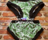 Slytherin Lace Scrundies OR Bunzies