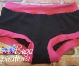 Black & Hot Pink Scrundies or Bunzies