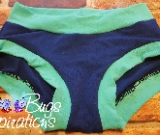 Royal Blue & Mint Scrundies or Bunzies