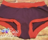 Purple & Red Scrundies or Bunzies