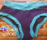 Purple & Aqua Scrundies or Bunzies