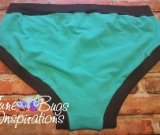 Mint & Brown Scrundies or Bunzies