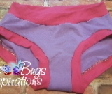 Lilac & Hot Pink Scrundies or Bunzies