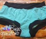 Aqua & Black Scrundies or Bunzies