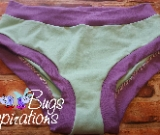 Seafoam & Lilac Scrundies or Bunzies