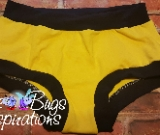 Yellow & Navy Scrundies or Bunzies