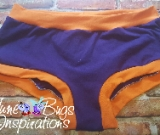 Purple & Tangerine Scrundies or Bunzies