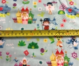 2yd Cut Around the World 2.0 Cotton Lycra