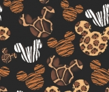 Mouse Kingdom Safari Small  Scale Fabric  Pre-Order