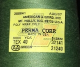 Perma Core Tex 40 Serger Thread Cone Green 6000yds