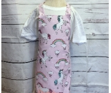 Kids Pink Unicorn Apron