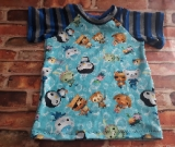 Size 4 Octonauts Short Sleeve Raglan