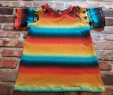 Size 4 Ombre Safari Short Sleeve Raglan