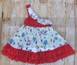 Dr Suess Size 3 Dress