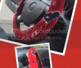 Texans Steering Wheel Cover
