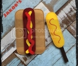 Felt Hot Dog Set