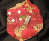 Small Cowboys and Indians Teddy Bears Diaper Cover w/ Durable Snaps